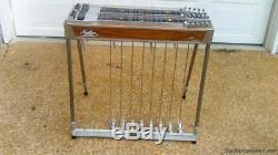 Mullen Royal Precision D10 8X5 Pedal Steel Guitar with Case! VGC