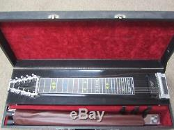 Mullen SD-10 3 Pedal Steel Guitar withStand & Hard Case