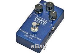 Mxr M288 Bass Octave Deluxe Bass Guitar Octaver Effect Pedal Brand New