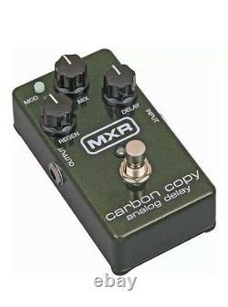 NEW MXR M169 Carbon Copy Analog Delay Guitar Effects Pedal Brand Spankin New