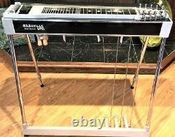 Nashville Ltd. Vintage pedal steel guitar! 3x4