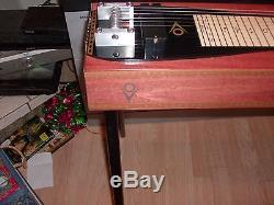 New texas longhorn 6 string two pedals one knee pedal steel guitar by overfelt