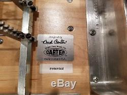 Nice! Carter S-10 Pro Model Pedal Steel Guitar Bill Lawrence XR-16 Pickup