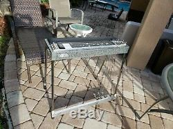 Nice Carter SD10 3X5 GeoL PU Pedal Steel Guitar withHard Case Very Good Cond