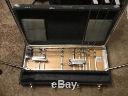 PEDAL STEEL GUITAR CARTER SD-10 WithPAD E9 3 FLOOR 5 KNEE LEVERS SEE PICs