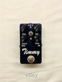 Paul Cochrane Timmy Overdrive Guitar Effect Pedal Brand Blue V2
