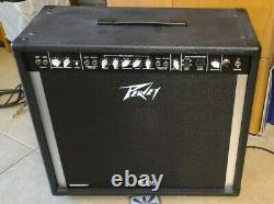 Peavey 115 500W Stereo Pedal Steel Guitar Amp WithCont. And Cable ExCond