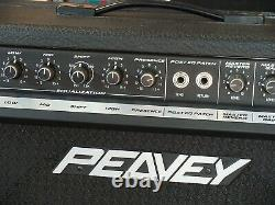 Peavey Nashville 1000 Pedal Steel Guitar Amp with manual and cover