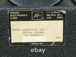 Peavey Nashville 400 1x15 Pedal Steel / Guitar Combo Amplifier USA 210 Watts