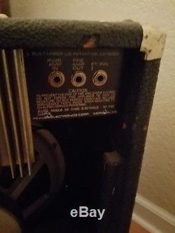 Peavey Nashville 400 Pedal Steel, Jazz Guitar or Fiddle Spring Reverb, 115 Combo