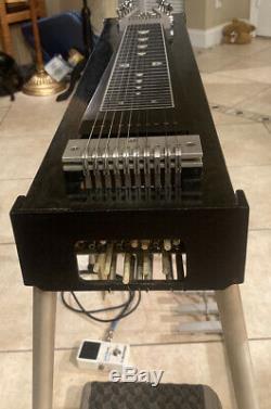 Pedal Steel Guitar Carter Starter 3x4 Tone Bar Volume Pedal-Beautiful Instrument