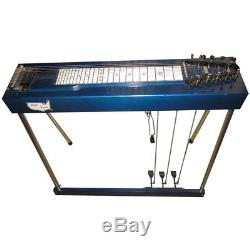 Pedal Steel Guitar Little Buddy S10 Student Vintage 1980 3 Pedals 1 Knee Lever