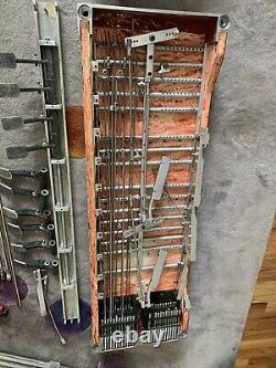 Pedal Steel Guitar MSA Dual 12 STRING VINTAGE For Parts