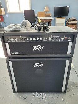 Pedal Steel Guitar Peavey 500 Watt Amp And Black Widow Speaker, New Condition