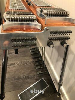 Pedal Steel Guitar ZB Custom Double Neck Needs Work