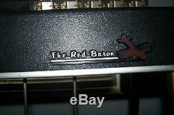 Pedal Steel Guitar mid 60s MSA Red Barron 10 string 3 pedals and knee lever