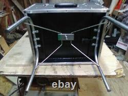 Pedal steel guitar pack seat