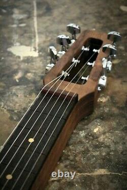 Peters lever steel (pedal steel sound) handmade lap slide guitar luthier built