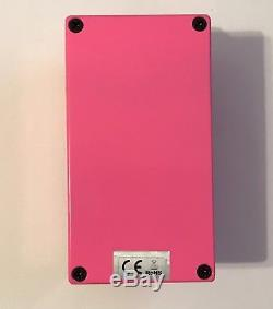 RARE OOP MINT Steel Panther Pussy Melter Guitar Distortion Pedal Limited # 1608
