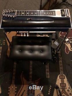 Rains Pedal Steel Guitar Blue Mica 3 x 4