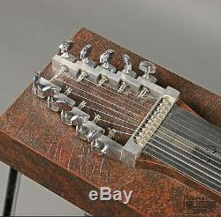 Rare British Mustang Pedal Steel Guitar 10 String, 3 pedal, 2 lever E9