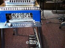 Refurbished and Enhanced MSA Pedal Steel Guitar with handcrafted new case