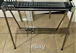 SGI (Excel) 3x4 Pedal Steel Flight Guitar, Black Mica