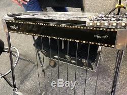 SHO-BUD SUPER PRO Pedal Steel GUITAR 8 PEDALS 6 KNEE LEVERS & case