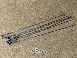 Set 6 Fender pedal steel 400 800 vintage guitar pedal cable pedal bars rods