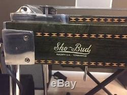 Sho Bud 1981 LDG SD10 Pedal Steel Guitar with Casel