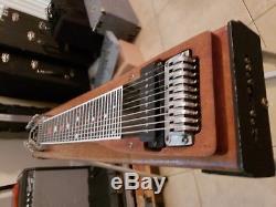Sho Bud 3X1 Maverick Pedal Steel Guitar with Carry Bag! Natural