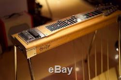 Sho Bud 6140 Pedal Steel Guitar withGoodrich Pedal&Hard Case! SIX pedals RARE