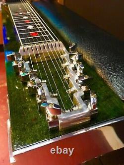 Sho Bud LDG SD10 Standard Emmons E9 Pedal Steel Guitar'81 Emerald Green