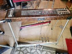 Sho Bud Maverick 3X1 Pedal Steel Guitar with Case! VGC
