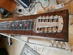 Sho Bud Maverick 3X1 Pedal Steel Guitar withCase Very Good Cond