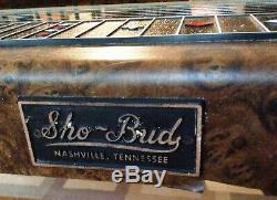 Sho Bud Maverick Pedal Steel Guitar With Original Case And Bar