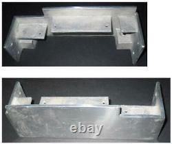 Sho-Bud Pedal Steel Guitar 6148 Single 10 End Plate Set NOS #s 205/206