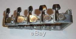 Sho-Bud Pedal Steel Guitar Headstock-KeyHead 10 String Gold ShoBud NOS