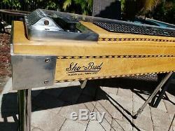 Sho Bud Pro 1 3X1 Pedal Steel Guitar withTone Bar, & Hard Case! VGC