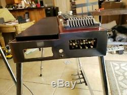 Sho Bud Pro-II Custom 3X4 Red Pedal Steel Guitar Hard Case incl