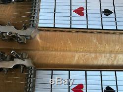 Sho-Bud Pro II Custom Pedal Steel Guitar 1975 Blond Birdseye Local Pickup