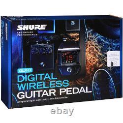 Shure GLXD16 Digital Wireless Guitar Pedal System Brand New
