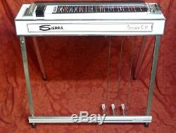 Sierra Session Pedal Steel Guitar S-10 Emmons 3 pedals 5 Knee Levers E9
