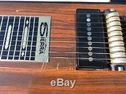 Sierra pedal Steel Guitar S-10 3 by 3