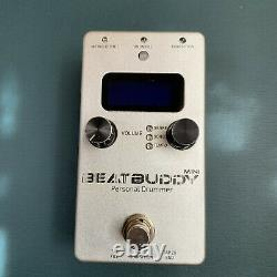Singular Sound Beatbuddy Mini Personal Drummer Guitar Effects Pedal withFootSwitch