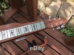 Six string pedal steel guitar by overfelt