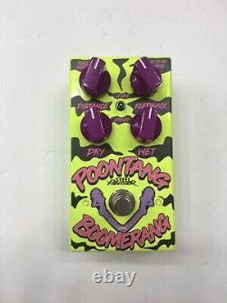 Steel Panther Poontang Boomerang Original Digital Delay Guitar Effect Pedal