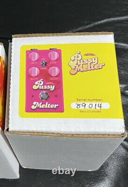 Steel Panther Pussy Melter Guitar Effects Pedal Number 27 Never Used