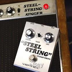 Steel String Clean Drive Guitar Effects Pedal, And Bass Recreates The Tonality X