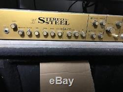 Stereo Steel Pedal Steel Guitar Amplifier Amp Processor Rack Mount